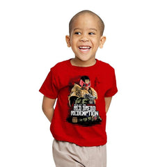 Red Dredd - Youth - T-Shirts - RIPT Apparel