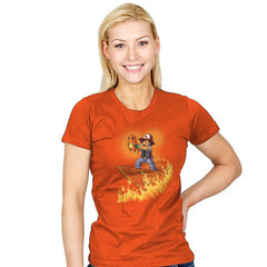 The Fire King - Pop Impressionism - Womens - T-Shirts - RIPT Apparel