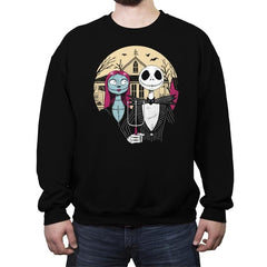 Nightmare Gothic - Crew Neck Sweatshirt - Crew Neck Sweatshirt - RIPT Apparel