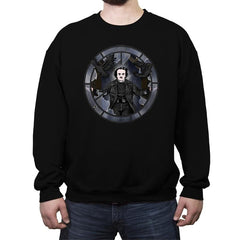 the Real Crow - Crew Neck Sweatshirt - Crew Neck Sweatshirt - RIPT Apparel