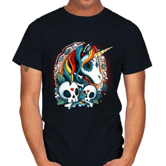 Sweet Unicorn Cammeo - Mens - T-Shirts - RIPT Apparel