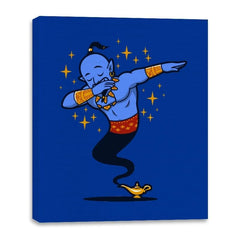 Dabbing Genie, Genie - Canvas Wraps - Canvas Wraps - RIPT Apparel