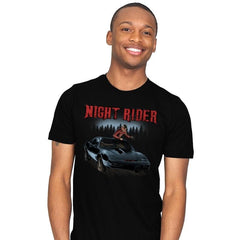 Night Rider - Mens - T-Shirts - RIPT Apparel