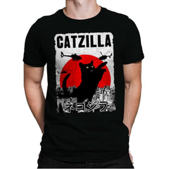 Catzilla City Attack - Mens Premium - T-Shirts - RIPT Apparel