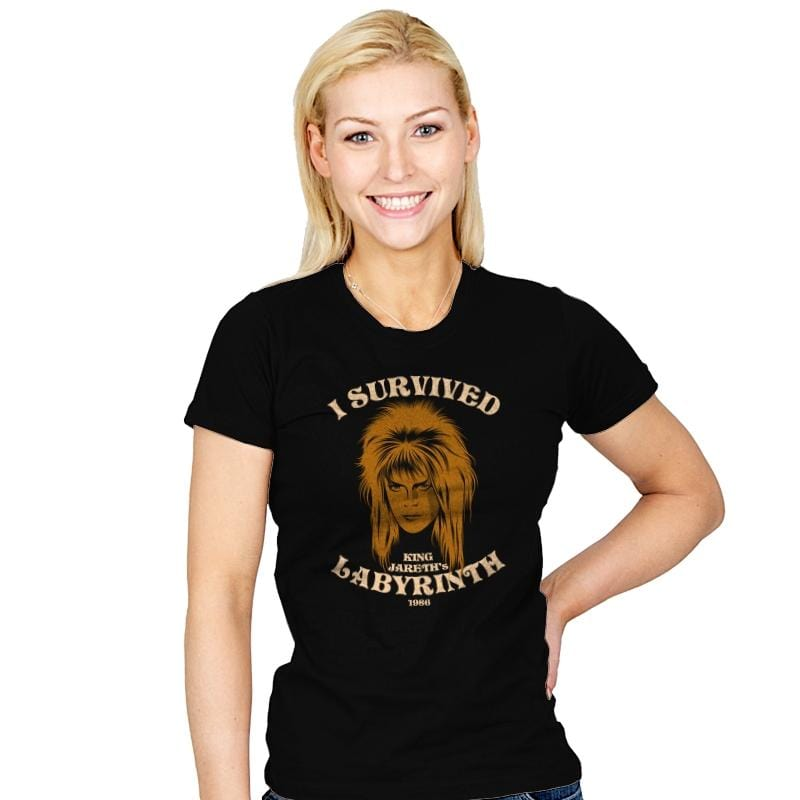 Goblin King Survivor - Womens - T-Shirts - RIPT Apparel