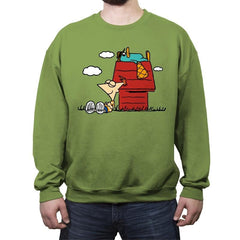 Snoophi! - Crew Neck Sweatshirt - Crew Neck Sweatshirt - RIPT Apparel