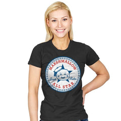 Marshmallow All Star - Womens - T-Shirts - RIPT Apparel