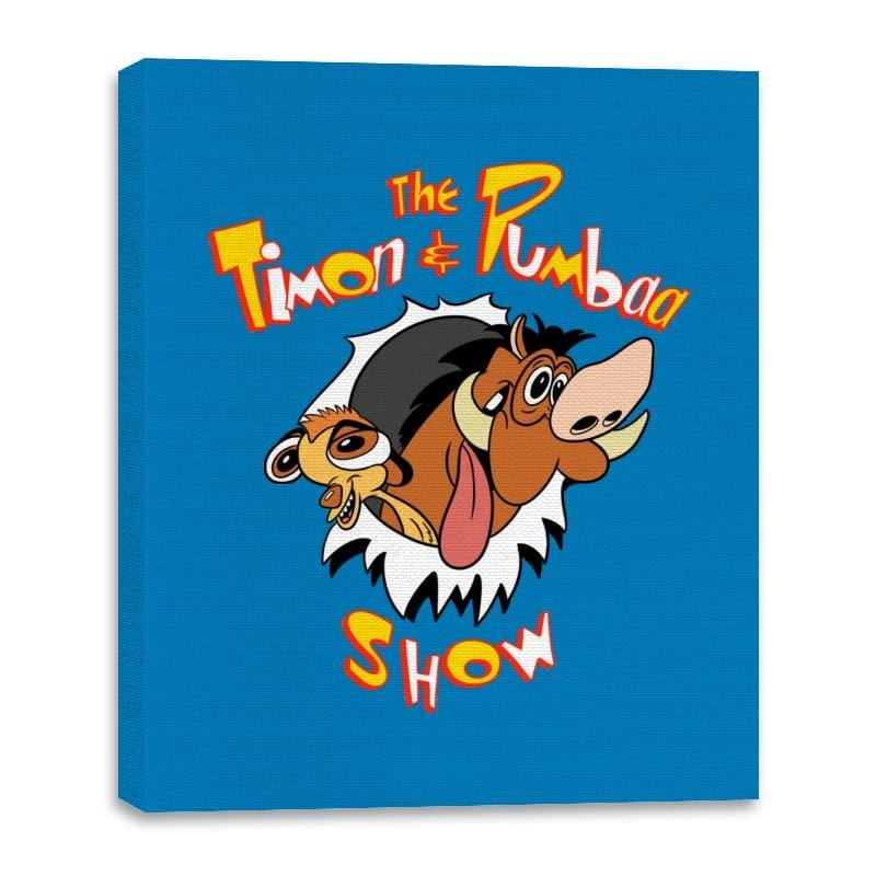 The Timon and Pumbaa Show - Canvas Wraps - Canvas Wraps - RIPT Apparel