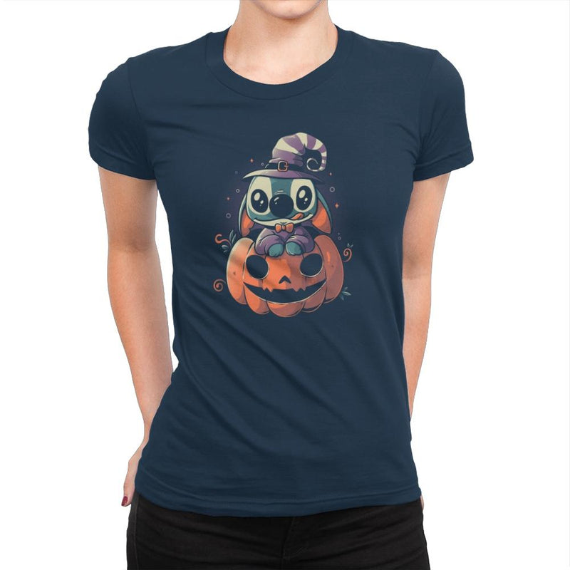 Ohana Pumpkin - Anytime - Womens Premium - T-Shirts - RIPT Apparel