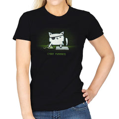 Cyber Puurate - Womens - T-Shirts - RIPT Apparel