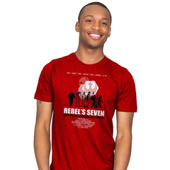 The Rebel's Seven - Mens - T-Shirts - RIPT Apparel