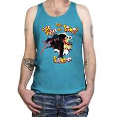 K. Ren and Stimpy Reprint - Tanktop - Tanktop - RIPT Apparel