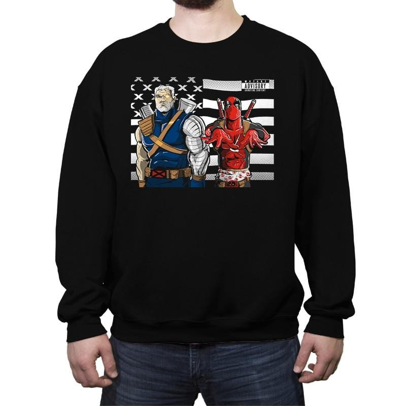 Chimichanga Junction - Crew Neck Sweatshirt - Crew Neck Sweatshirt - RIPT Apparel