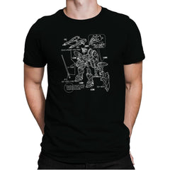 Modeling Skills Helpful Exclusive - Anime History Lesson - Mens Premium - T-Shirts - RIPT Apparel