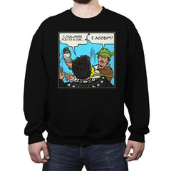 Duel - Crew Neck Sweatshirt - Crew Neck Sweatshirt - RIPT Apparel