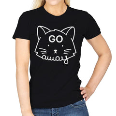 Go Away - Womens - T-Shirts - RIPT Apparel