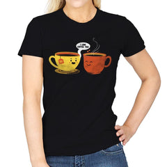 I Love Coffee Too - Womens - T-Shirts - RIPT Apparel