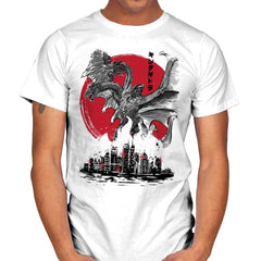 The King of Terror Attack - Mens - T-Shirts - RIPT Apparel