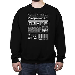 Programmer - Crew Neck Sweatshirt - Crew Neck Sweatshirt - RIPT Apparel