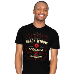 Black Widow Vodka - Mens - T-Shirts - RIPT Apparel
