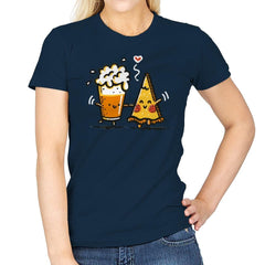 Beer and Pizza - Womens - T-Shirts - RIPT Apparel