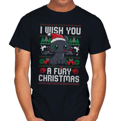 Fury Christmas - Mens - T-Shirts - RIPT Apparel