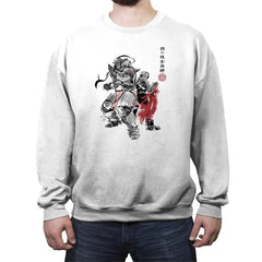 Brotherhood Sumi-e - Crew Neck Sweatshirt - Crew Neck Sweatshirt - RIPT Apparel
