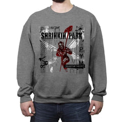 Shrinkin Park - Crew Neck Sweatshirt - Crew Neck Sweatshirt - RIPT Apparel