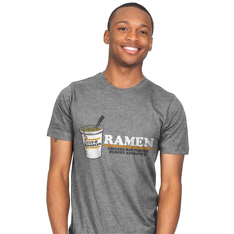Ramen Budget Approved Exclusive - Mens - T-Shirts - RIPT Apparel