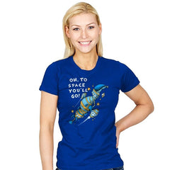Oh, To Space! - Womens - T-Shirts - RIPT Apparel