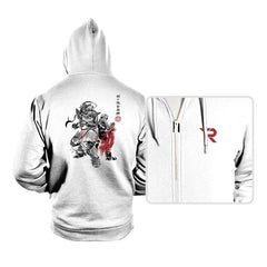 Brotherhood Sumi-e - Hoodies - Hoodies - RIPT Apparel