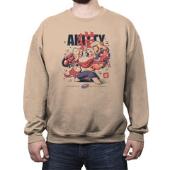 Akitty  - Crew Neck Sweatshirt - Crew Neck Sweatshirt - RIPT Apparel