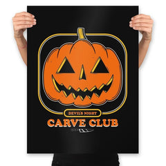 Carve Club - Prints - Posters - RIPT Apparel