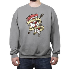 Pizza Lover - Crew Neck Sweatshirt - Crew Neck Sweatshirt - RIPT Apparel