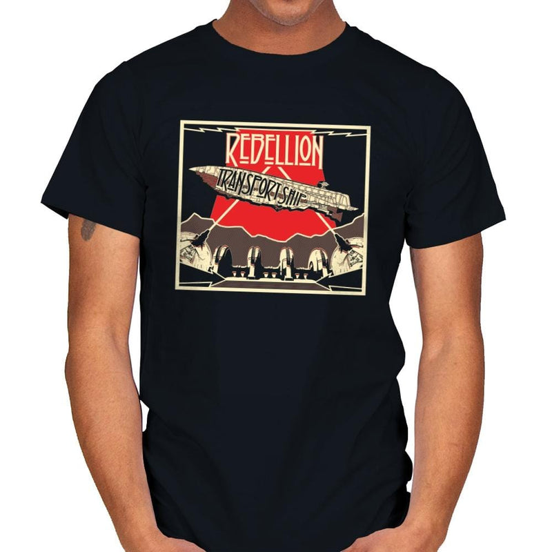 Rebellion - Transport Ship - Mens - T-Shirts - RIPT Apparel