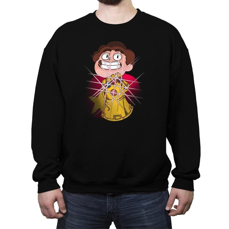 Steven and the infinity Gems - Crew Neck Sweatshirt - Crew Neck Sweatshirt - RIPT Apparel