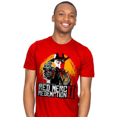 Red Merc Redemption II - Mens - T-Shirts - RIPT Apparel