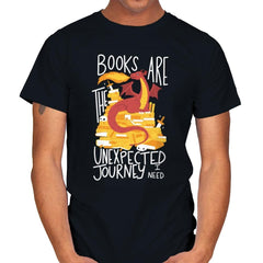 Book Dragon - Mens - T-Shirts - RIPT Apparel