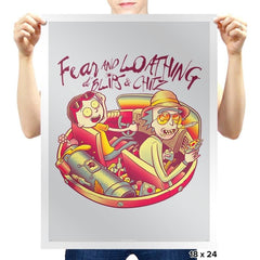 Fear and Loathing at Blips & Chitz - Prints - Posters - RIPT Apparel