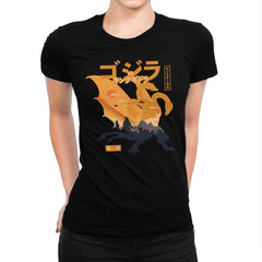 King of the Monsters Vol.1 - Womens Premium - T-Shirts - RIPT Apparel