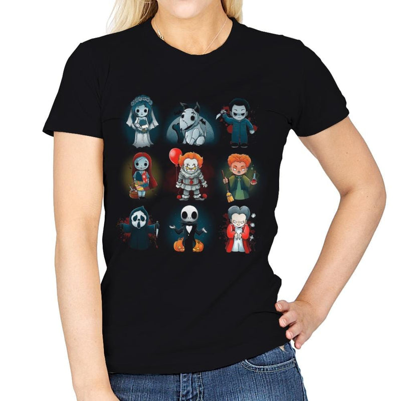 Nerdy Halloween - Womens - T-Shirts - RIPT Apparel