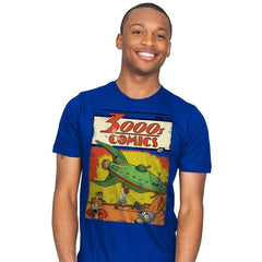 3000s Comics - Mens - T-Shirts - RIPT Apparel