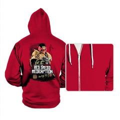 Red Dredd - Hoodies - Hoodies - RIPT Apparel