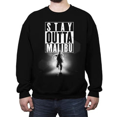 Outta Malibu - Crew Neck Sweatshirt - Crew Neck Sweatshirt - RIPT Apparel
