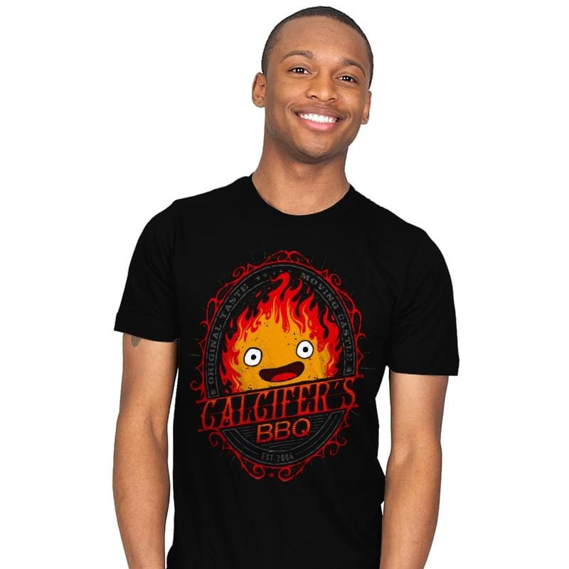Calcifers BBQ - Mens - T-Shirts - RIPT Apparel