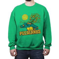 Pizzalands - Crew Neck Sweatshirt - Crew Neck Sweatshirt - RIPT Apparel