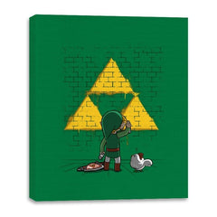 Link Graffiti - Canvas Wraps - Canvas Wraps - RIPT Apparel