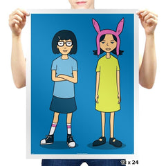 Burger Sisters - Prints - Posters - RIPT Apparel