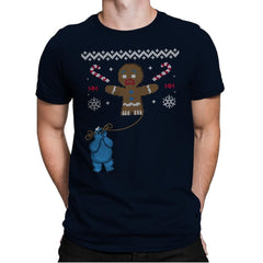 Ugly Cookie! - Ugly Holiday - Mens Premium - T-Shirts - RIPT Apparel
