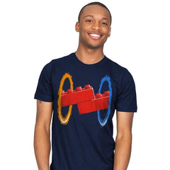 Now Your Building With Portals Exclusive - Mens - T-Shirts - RIPT Apparel
